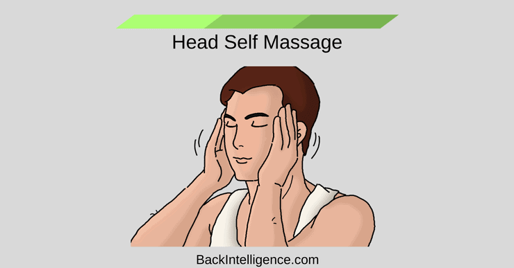 Massage for head pain relief