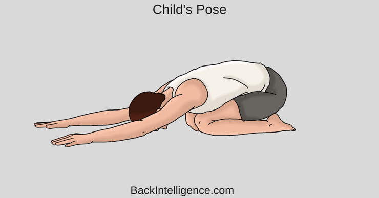 childs pose