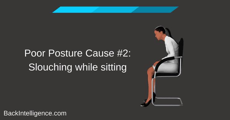 sitting with bad posture