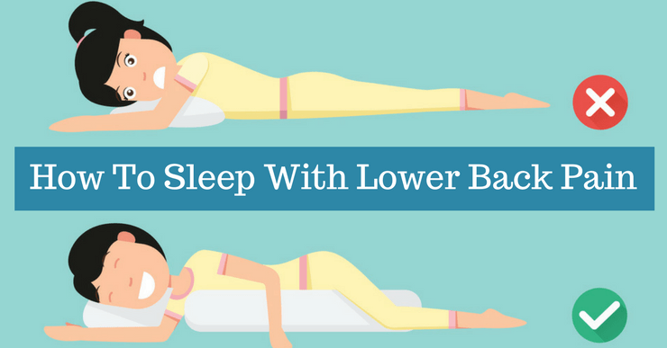 how to sleep with low back pain