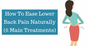 how to ease back pain naturally