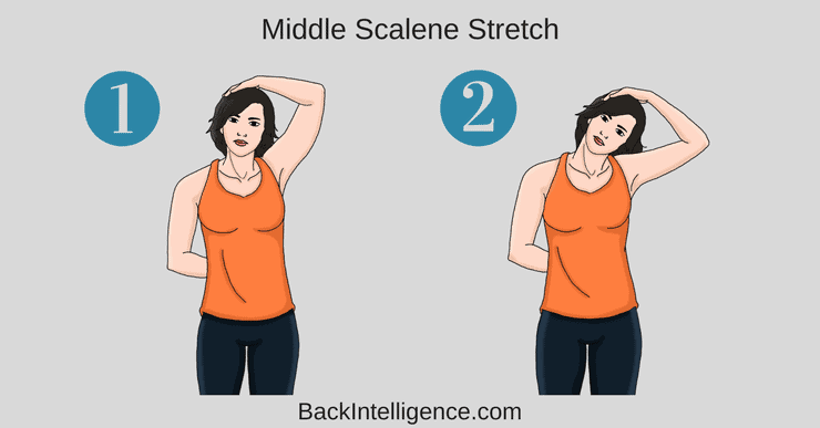 middle scalene stretch