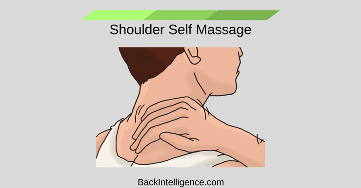 Shoulder self massage technique