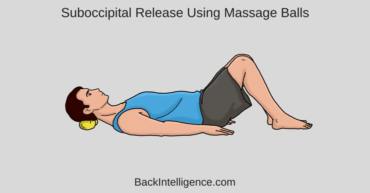 Neck pain self massage