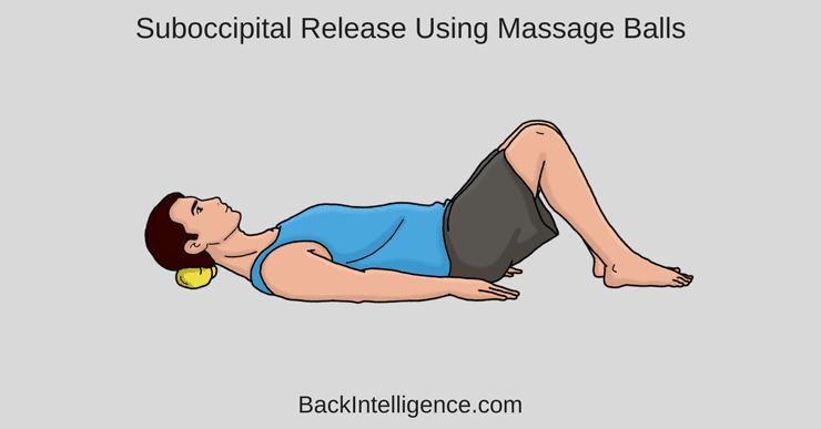 Neck pain self massage