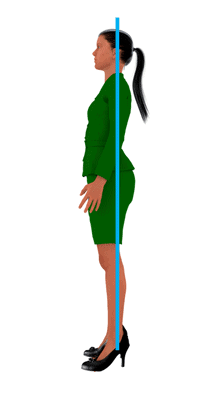 good posture position