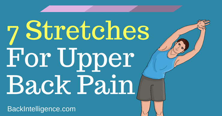 upper back stretches for back pain