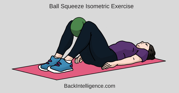 Isometric ball squeeze