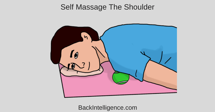 Self massage shoulder