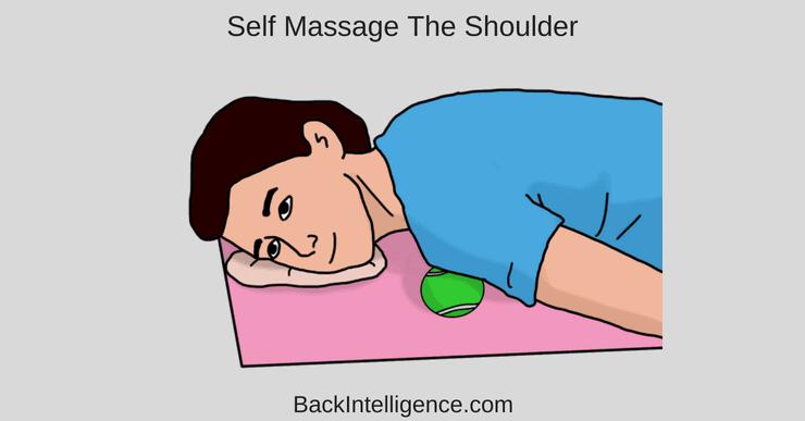 Self massage shoulder