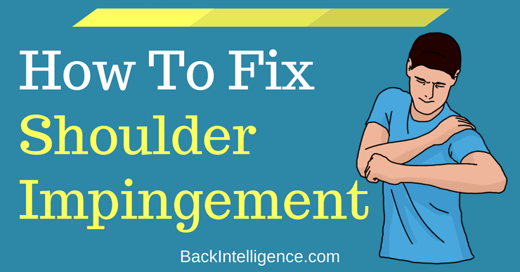 Shoulder Impingement Exercises You Can Do At Home (Long Term