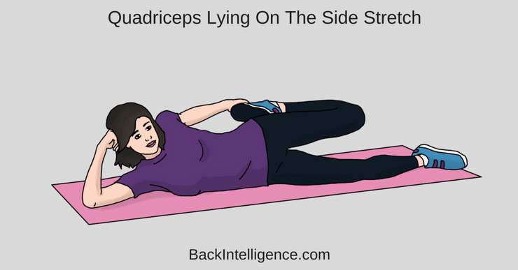 Quadriceps Lying Stretch