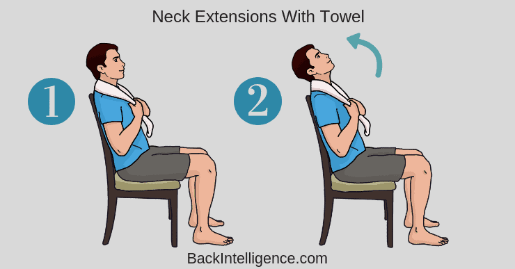 Neck Extensions with Towel