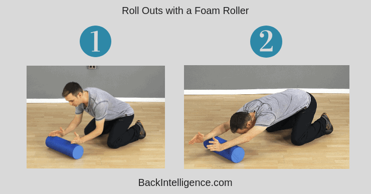 Foam Roller Thoracic Extensions