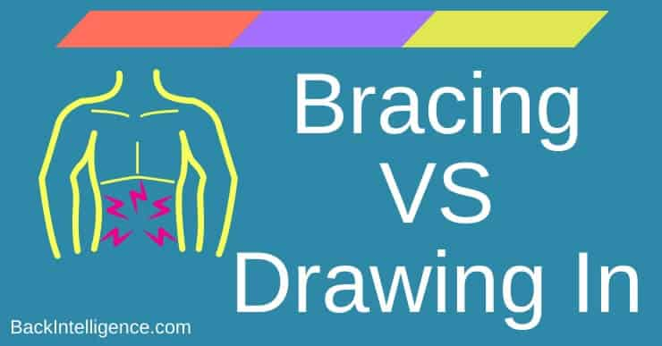 Bracing Versus Drawing In Core