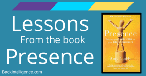Posture lessons from Presence book