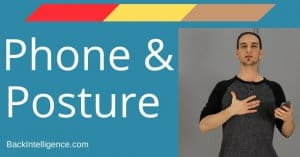 Effects of phones on posture and breathing