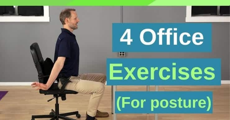 4 Office Posture Exercises - Back Intelligence