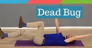 Dead Bug Core Exercise
