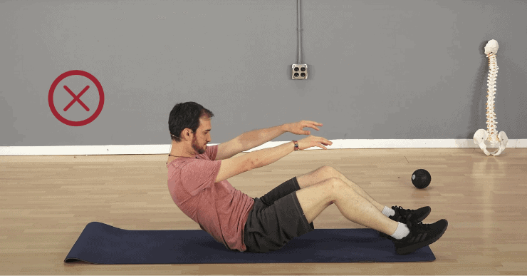 Sit Ups - 3 Exercises That Are Bad for Your Back