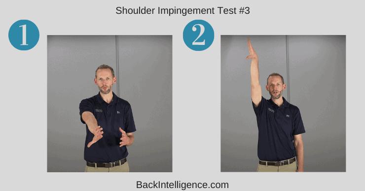 Shoulder Impingement Test #3